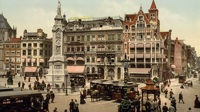 Historia Amsterdamu