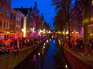 Red Light District di Amsterdam